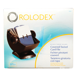 Rolodex Rotary Swivel Contact Card Files