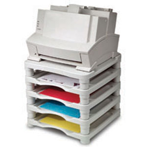 5 Tier Stackable Printer Stand