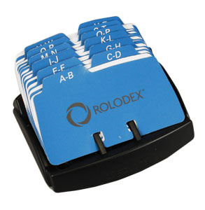 Rolodex Petite Contact Card File