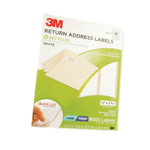 3M Return Address Labels