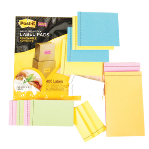Post it Label Pad Assortment