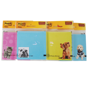 Post it Pet Note Pad Assortment