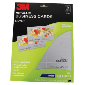 3M Blank Business Cards